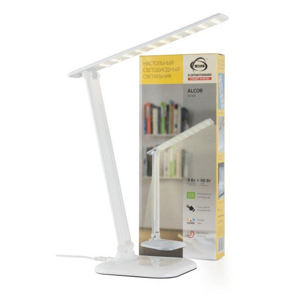 Настольный светодиодный светильник Alcor белый TL90200 4