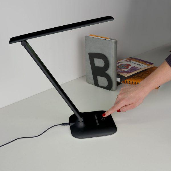 Настольный светодиодный светильник Alcor черный TL90200 5
