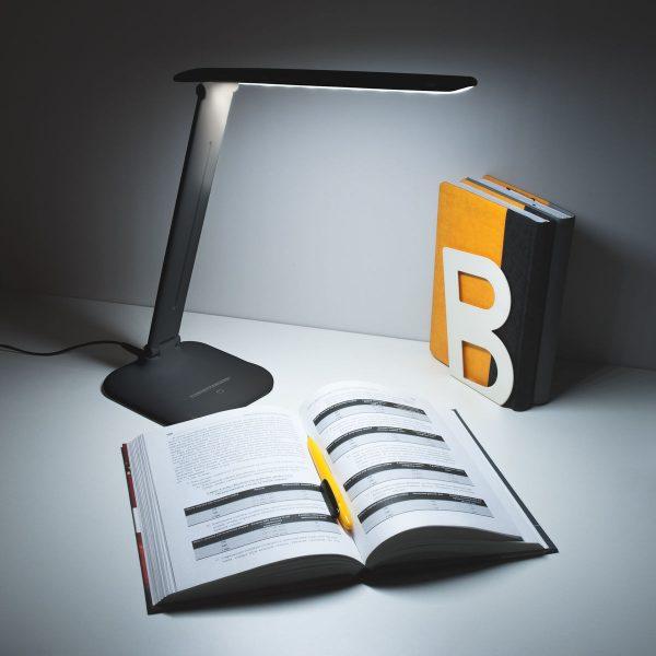 Настольный светодиодный светильник Alcor черный TL90200 4