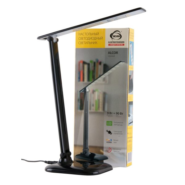 Настольный светодиодный светильник Alcor черный TL90200 1
