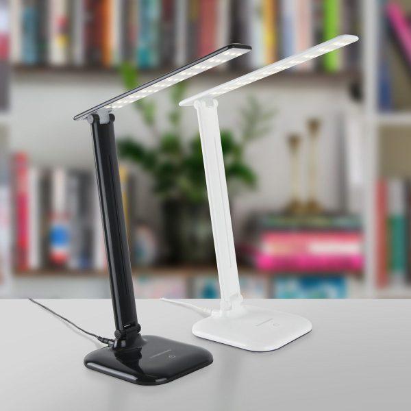 Настольный светодиодный светильник Alcor черный TL90200 7