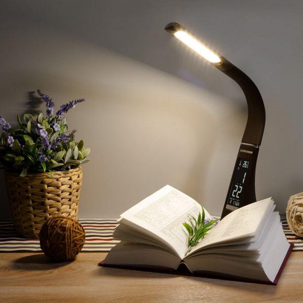 Настольный светодиодный светильник Elara черный TL90220 8