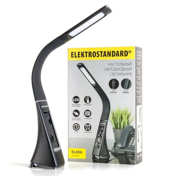 Настольный светодиодный светильник Elara черный TL90220 6