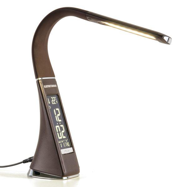 Настольный светодиодный светильник Elara коричневый TL90220 3