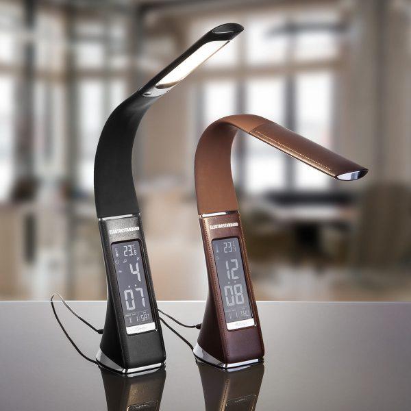 Настольный светодиодный светильник Elara коричневый TL90220 8