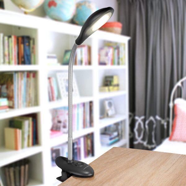 Настольный светодиодный светильник Captor черный TL90300 2