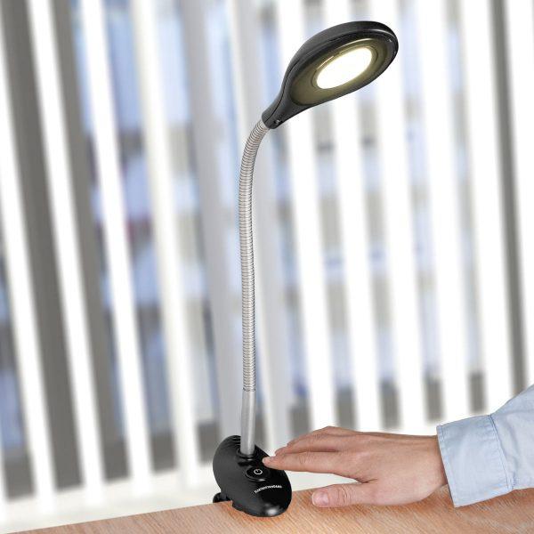Настольный светодиодный светильник Captor черный TL90300 1