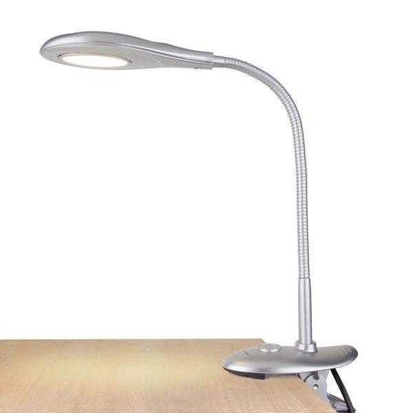 Настольный светодиодный светильник Captor серебряный TL90300 4