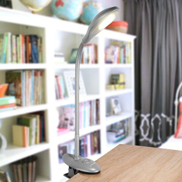 Настольный светодиодный светильник Captor серебряный TL90300 3