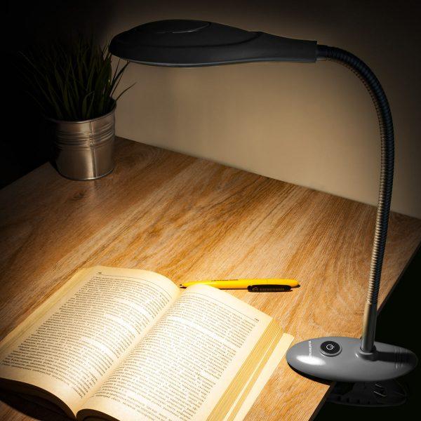 Настольный светодиодный светильник Captor серебряный TL90300 1
