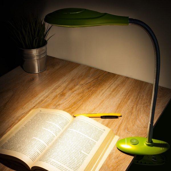 Настольный светодиодный светильник Captor зеленый TL90300 1