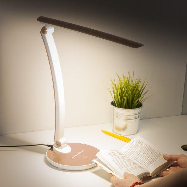 Настольный светодиодный светильник Gander золотой TL90310 1