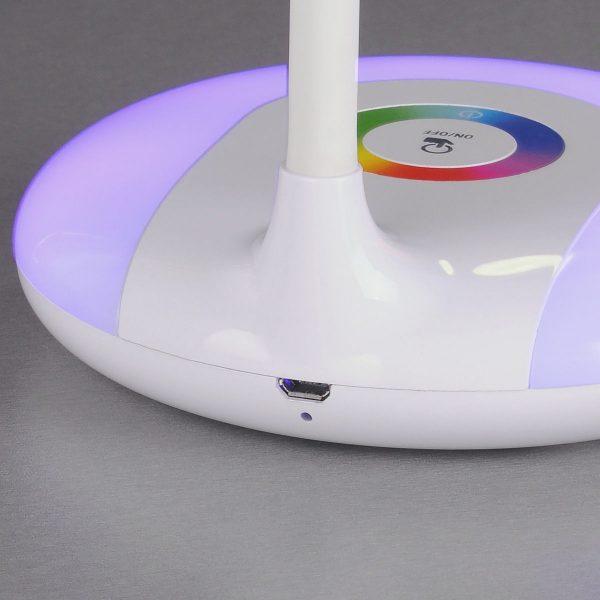 Настольный светодиодный светильник Candy белый TL90330 1