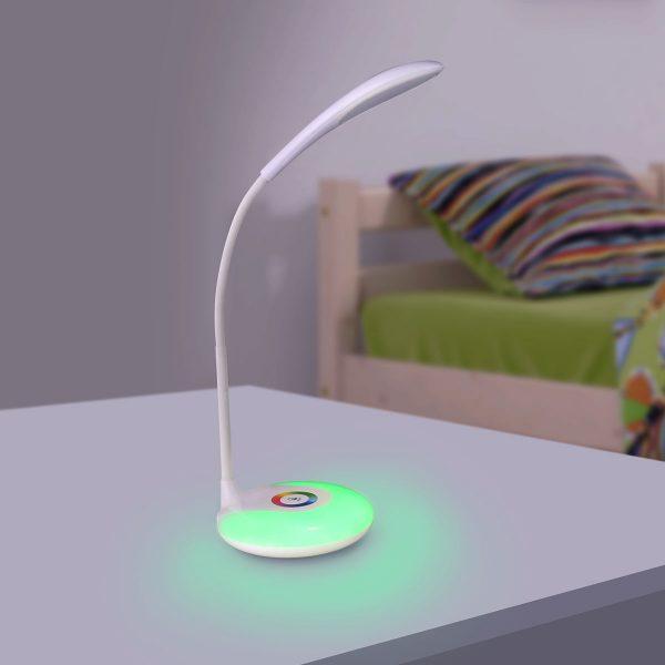 Настольный светодиодный светильник Candy белый TL90330 5