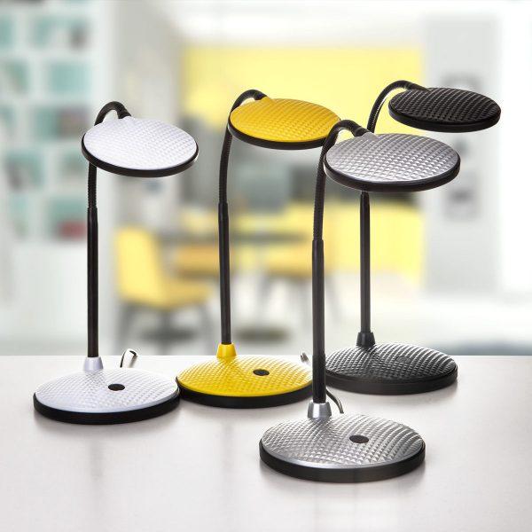 Настольный светодиодный светильник Sweep серебряный TL90400 5