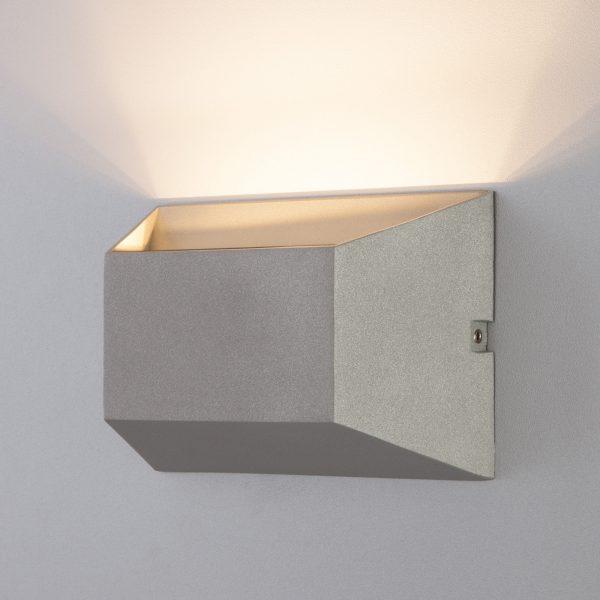 OFION алмазный серый уличный настенный светодиодный светильник 1614 TECHNO LED