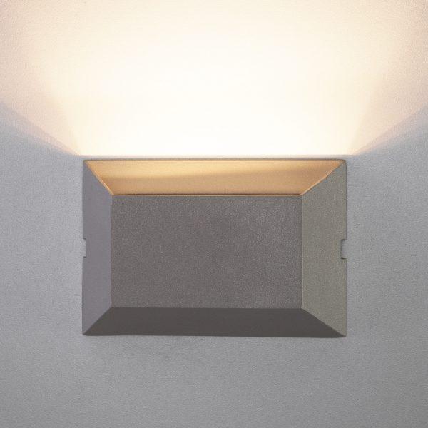 OFION алмазный серый уличный настенный светодиодный светильник 1614 TECHNO LED 4