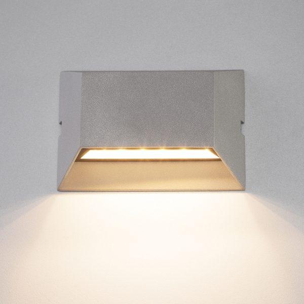 OFION алмазный серый уличный настенный светодиодный светильник 1614 TECHNO LED 5