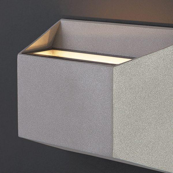 OFION алмазный серый уличный настенный светодиодный светильник 1614 TECHNO LED 3