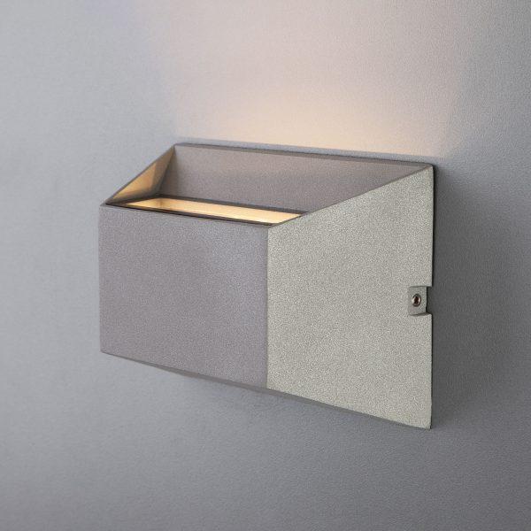 OFION алмазный серый уличный настенный светодиодный светильник 1614 TECHNO LED 6