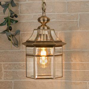 Savoie H медь уличный подвесной светильник GL 1031H