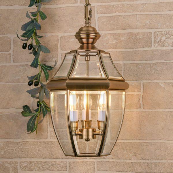 Chatel H медь уличный подвесной светильник GL 1032H