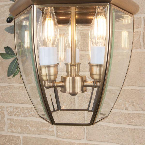Chatel H медь уличный подвесной светильник GL 1032H 1