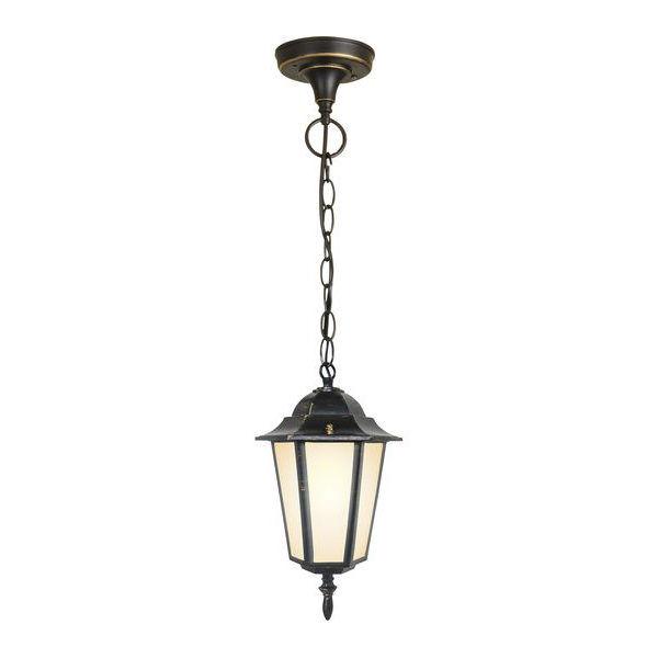 уличный подвесной светильник GL 1004H черное золото 1