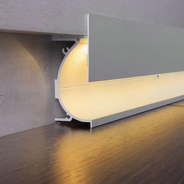 Профиль для светящегося плинтуса и встраиваемых светильников 7023259 5