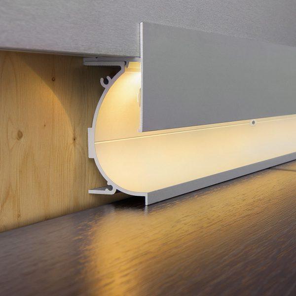 Профиль для светящегося плинтуса и встраиваемых светильников 7023259 6