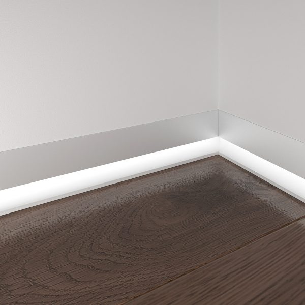 Профиль для светящегося плинтуса и встраиваемых светильников 7023259 2