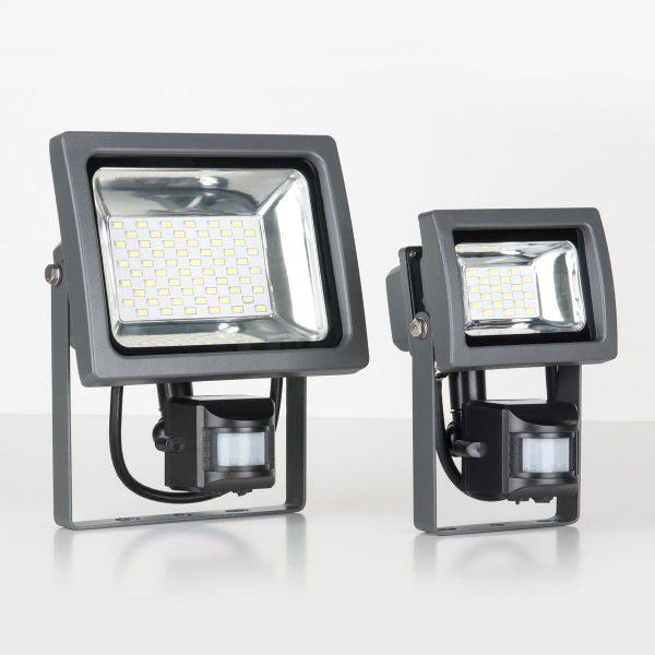 Прожектор светодиодный с датчиком движения 003 FL LED 30W 2