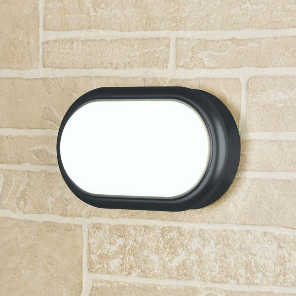 Forssa черный пылевлагозащищенный светодиодный светильник LTB05