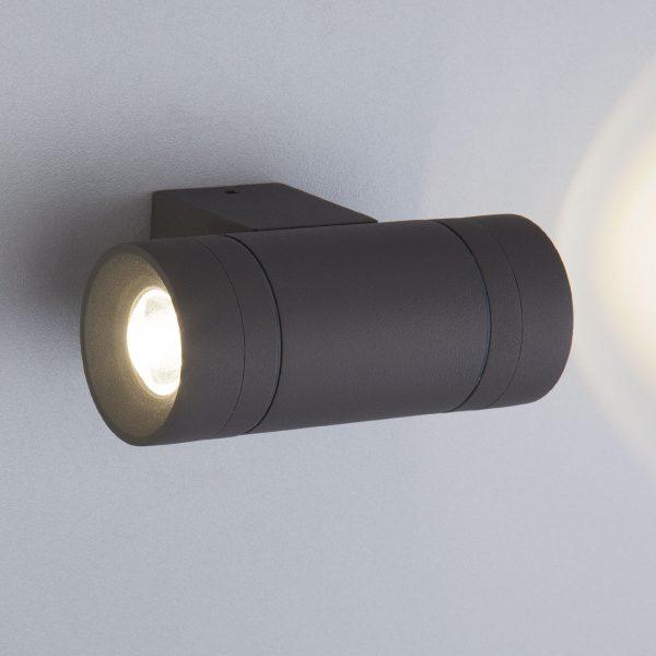 SOKAR графит уличный настенный светодиодный светильник 1605 TECHNO LED 1
