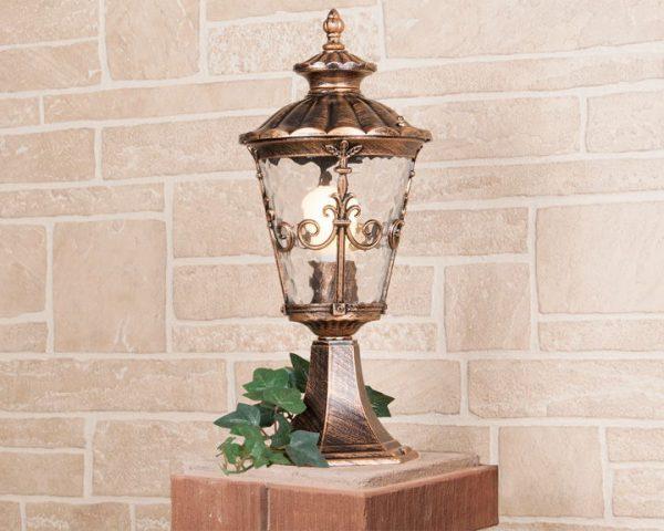 Diadema S черное золото ландшафтный светильник GLYF-8046S