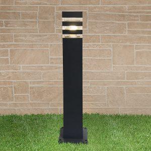 уличный светильник на столбе 1550 TECHNO черный