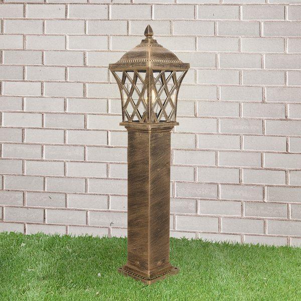 Cassiopeya F черное золото уличный светильник на столбе GL 1018F