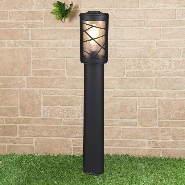 Premier F черный уличный светильник на столбе GL 1017F