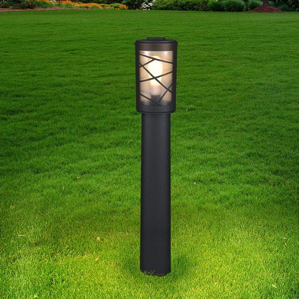 Premier F черный уличный светильник на столбе GL 1017F 1