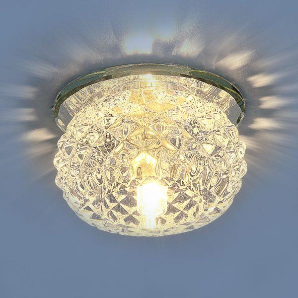 Светильник точечный 176 G9 CL прозрачный