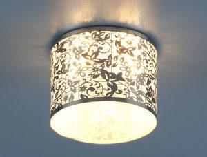 Светильник точечный 8402 CH/WH (хром/белый)
