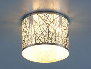 Светильник точечный 8403 CH/WH (хром/белый)