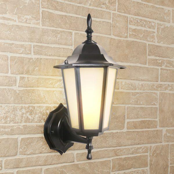 уличный настенный светильник GL 1004U черный