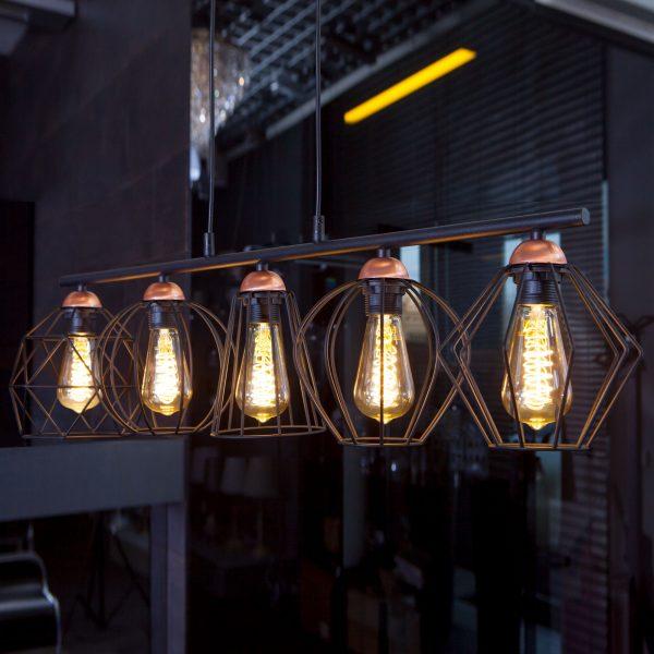 Светодиодная лампа ST64 FDL 8W 3300K E27 2