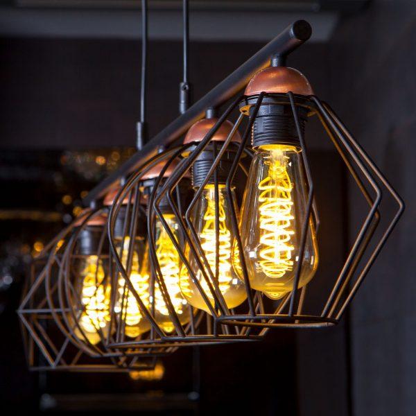 Светодиодная лампа ST64 FDL 8W 3300K E27 1