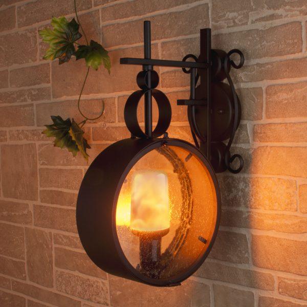 Светодиодная лампа Лампа BL127 5W E27 имитация пламени 2