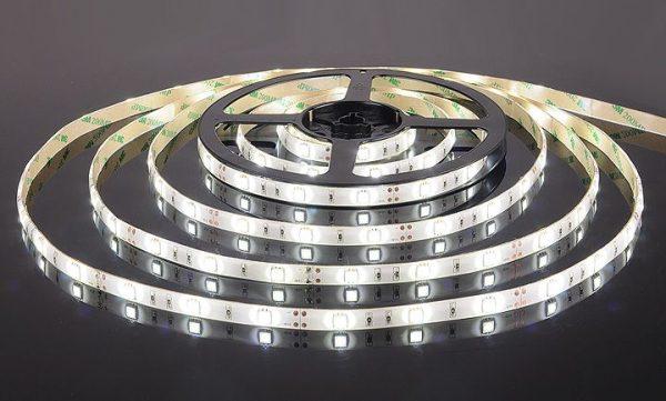 Светодиодная лента 5050/30 LED 7.2W IP65 белый свет 6500К