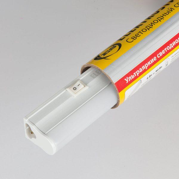 Светодиодный светильник LedStickТ5 60см48led9W6500К LST01 9W 2