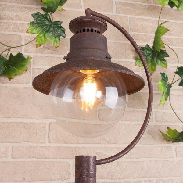 Talli F брауни уличный светильник на столбе GL 3002F 1