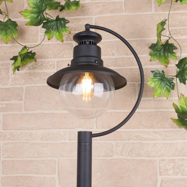 Talli F черный уличный светильник на столбе GL 3002F 1